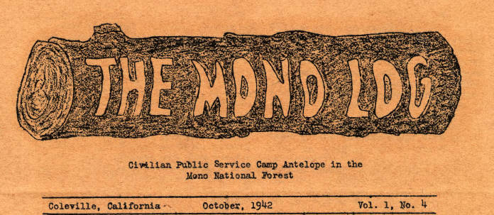 CPS Camp No. 37, The Mono Log