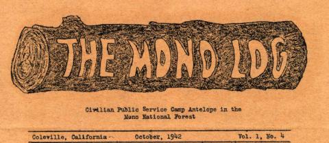 CPS Camp No. 37, The Mono Log