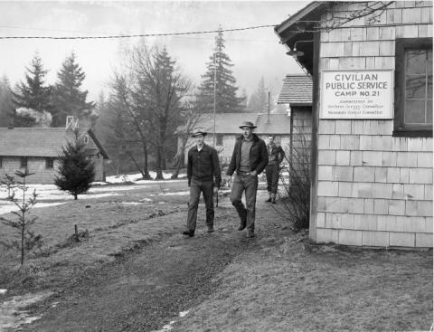CPS Camp No. 21, Cascade Locks Oregon - buildings.