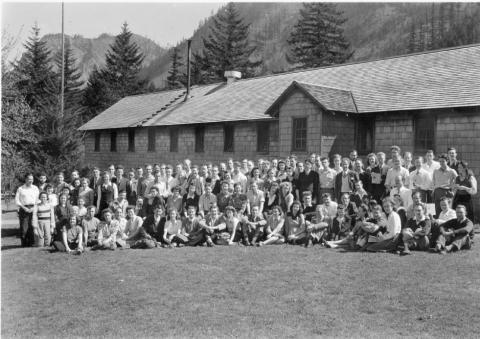 CPS Camp No. 21, Cascade Locks Oregon - group photo.