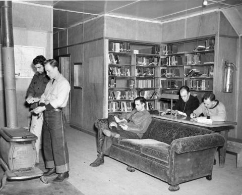 CPS Camp No. 21, Cascade Locks Oregon - library 2.