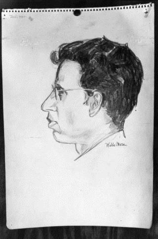 Drawing of William Jadiker