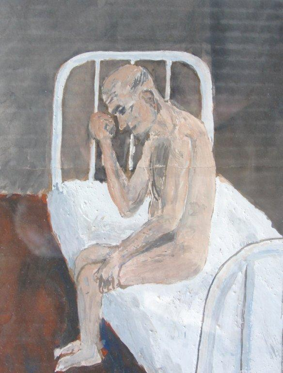 Drawing of patient