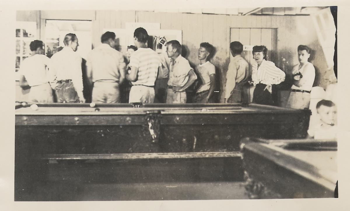 Mancos Work Camp Rec. Hall, 111